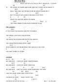 We Are One - Music And Lyrics By Connor Ross, Ukulele Arr. S. Doane