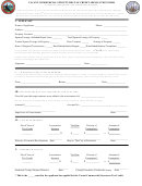 Vacant Commercial Structures Tax Credit Application Form