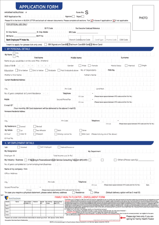 sbi online form download 2013