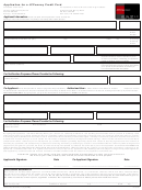 Application Form For A Jcpenney Credit Card