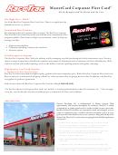 Mastercard Corporate Fleet Card