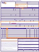 Form Co202/616-fx - Fedex Uniform Straight Bill Of Lading