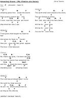 amazing grace mandolin chord chart printable pdf download. Black Bedroom Furniture Sets. Home Design Ideas