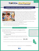 Parent Guide For Grade 5 Mathematics