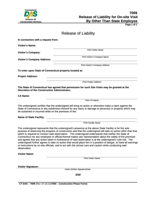 Release Of Liability Ca >> 291 Release Of Liability Form Templates Free To Download In Pdf
