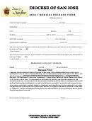Adult Medical Release Form