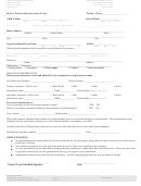 Minor Patient Registration Form