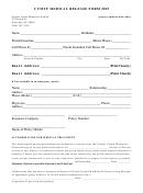 Cumyf Medical Release Form 2015
