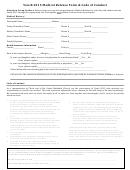 Youth 2015 Medical Release Form - Code Of Conduct