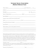 Medical Release Form - Soccer
