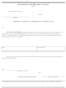 Form Ao 90 - Subpoena To Testify At A Deposition In A Criminal Case