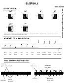 Guitar Sheet Sleepwalk
