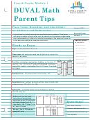Math Parent Tips - Place Value Worksheet