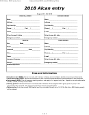 Alcan Entry Form