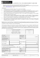 Kilometre Reimbursement Claim Form