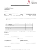 Application Form For Bank Loan Demand Letter