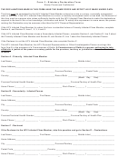 Form 3 - Statutory Declaration Form