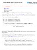 Fbi Background Check - Form & Instructions