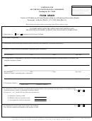 Form Msdw - Notice Of Withdrawal From Registration As A Municipal Securities Dealer
