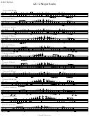 12 major scales piano pdf