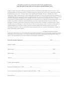 Birthday Party Waiver &instruction Agreement