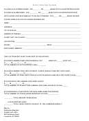 Alumni Event Sign Up Sheet Template