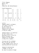 Imagine (key: C) Chord Chart