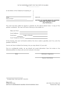 Notice Of Guardianship Hearing For Non Indian Child