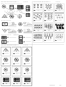 Basic Fractions Practice Worksheet Template With Answers