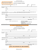Form 820 - Notice Of Transfer Pending - State Alaska Division Of Motor Vehicles