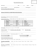 Ions Medical History Form