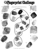Quiz Template Fingerprint Challenge