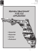 Dr-156t - Florida Temporary Fuel Tax Application
