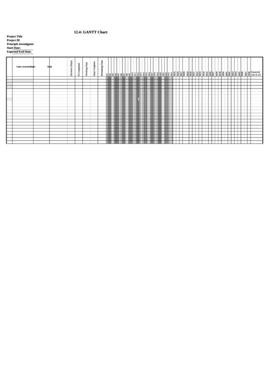gantt chart template printable pdf download. Black Bedroom Furniture Sets. Home Design Ideas