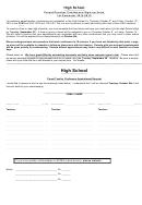 High School Parent/teacher Conference Sign-up Form