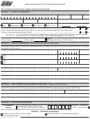Form Reg 343 - Application For Appointment As Notary Public