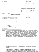 Form 4-19b - Order Determining Objections To Adjusted Order