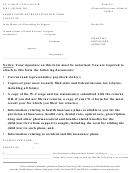 Financial Disclosure Affidavit