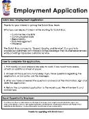 Dutch Bors Job Application