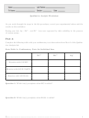 Qualitative Analysis Worksheet