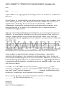 Invitation Letter To Prospective Board Members