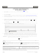 Form L032.001 - Statutory Agent Resignation Form Limited Liability Company - 2010