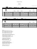 Sheet Music - Guitar - Cripple Creek