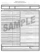 Mobile Food Facility Official Inspection Form Sample - Alameda County