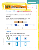 Number And Operations Fractions Worksheet