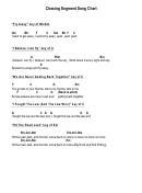 Chasing Segment Song Chart