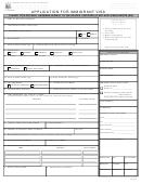 Immigrant Visa Application Form (philippines)