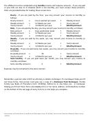 Fillable Family Law Financial Affidavit Short Form Printable Pdf