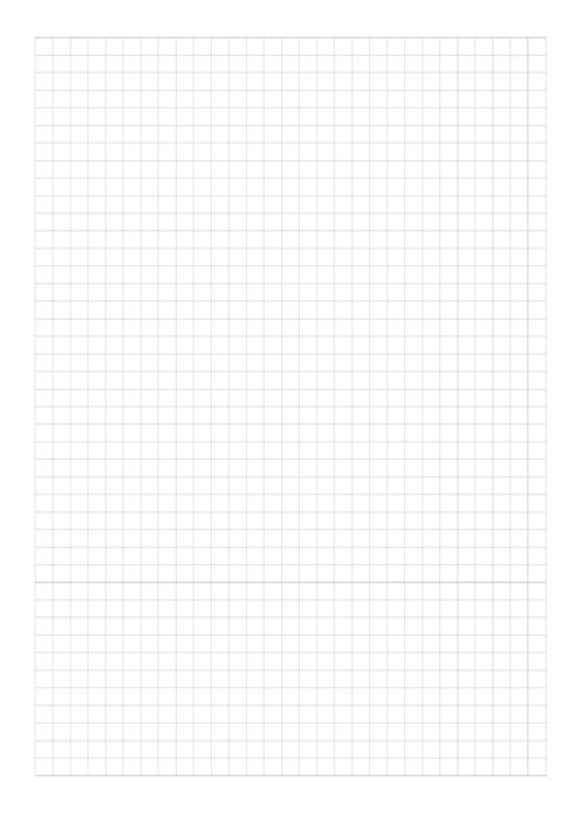 Plain Graph Paper Printable pdf