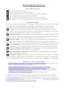 Book Proposal Checklist